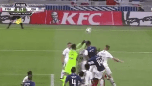 VIDEO: Matt Miazga and Olivier Giroud Were Bloody Messes After Collision in USA-France Friendly
