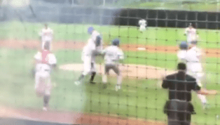 VIDEO: Minor League Pitcher Sparks Brawl and Body Slams Opponent