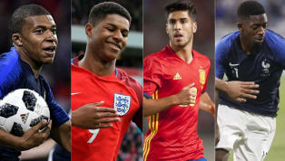 Youngest XI of Top Players Who Will Feature at The FIFA World Cup in Russia