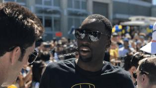 Draymond Green Trolls LeBron Hardcore With Championship Shirt During Parade