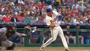 VIDEO: Watch Scott Kingery Blast Three-Run Shot to Put Phillies Up Early