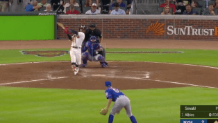 VIDEO: Watch Ozzie Albies Absolutely Sock Grand Slam and Put Game Away