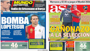 El fichaje de Lopetegui por el Real Madrid, protagonista en las portadas