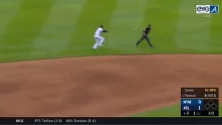 VIDEO: Dansby Swanson Shows Off Slick Glove Work With Incredible Web Gem
