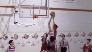 VIDEO: Gigantic 6-10 12-Year-Old Dominates Group of Normal-Sized Children