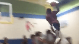 VIDEO: Dude Posterizes Friends in Insane Dunk on Instagram
