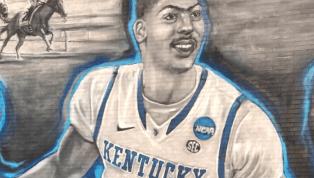Lexington Barber Shop Unveils New Anthony Davis Mural
