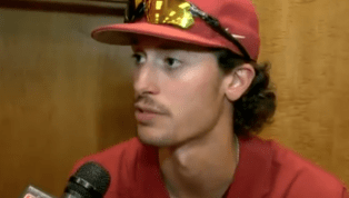VIDEO: Arkansas Ace Issues Challenge to Roger Clemens' Son Kody Before College World Series