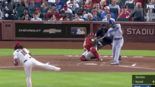 VIDEO: Addison Russell Ties the Game With Monster Homer Off Carlos Martinez