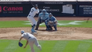 VIDEO: Aaron Hicks Launches a Solo Shot to Put the Yankees on the Board
