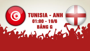 NHẬN ĐỊNH: Tunisia - Anh (1h00 - 19/6): Tam Sư gầm vang!