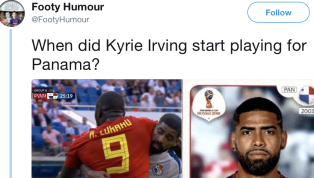 Twitter is Freaking Out Over Panama Soccer Player Who Looks Like Kyrie Irving