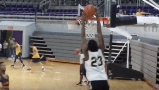 VIDEO: Day'Ron Sharpe Highlights Will Pump Up UNC Fans