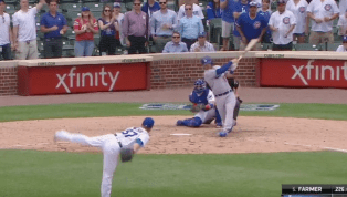 VIDEO: Watch Kyle Farmer Smack Clutch Two-Out Double to Steal Lead for Dodgers in Ninth