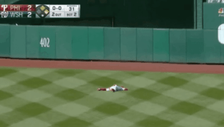 ESPECTACULAR: Aquí está la jugada de la jornada en MLB cortesía Odúbel Herrera