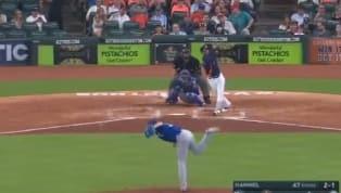 TREMENDO: Yuli Gurriel se luce con un tremendo grand slam para los Astros ante los Reales