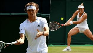 Wimbledon-Roundup: Zverev und Kerber locker in Runde zwei