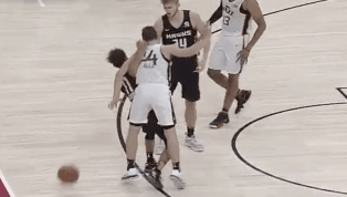 VIDEO: Grayson Allen and Trae Young Get Into Scuffle in Summer League