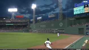 VIDEO: Mookie Betts Robs Home Run From Nomar Mazara