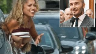 IMPERDIBLE: David Beckham desató la locura en las calles de Miami