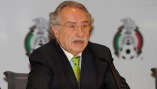 ADIÓS   Decio de María deja la Federación Mexicana de Fútbol