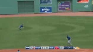 VIDEO: Kevin Pillar Makes Incredible Diving Catch to Double Up Red Sox