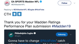 Somehow Nick Foles Has Lower Catch Rating Than Tom Brady on Madden