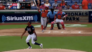 VIDEO: White Sox Prospect Luis Basabe Sends 102 MPH Fastball Out of the Yard in Futures Game