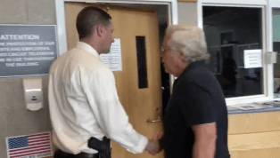 VIDEO: Robert Kraft Arrives to Offer Condolences to Police Department Mourning Death of Officer