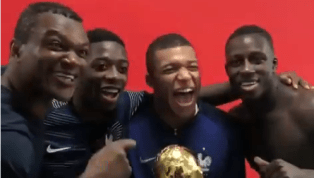 La vidéo magique de Mbappé, Dembélé et Mendy avec Desailly