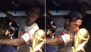Antoine Griezmann Wore a Shirt With Special Message as He Celebrated Becoming a World Champion