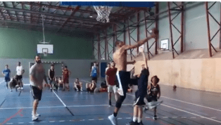 VIDEO: Rudy Gobert Mercilessly Swats Little Kid at Basketball Camp