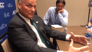 VIDEO: Mark Richt Shares Surprisingly Strong Opinions About Thanksgiving Dinner