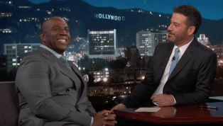 VIDEO: Magic Johnson Roasts LaVar Ball on Jimmy Kimmel Live