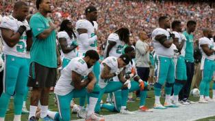 BOMBA: Miami Dolphins castigará a los jugadores que se arrodillen durante el himno nacional