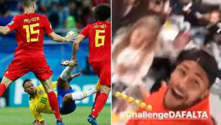 Neymar's Hilarious Video With Kids Taking on 'The Foul Challenge'