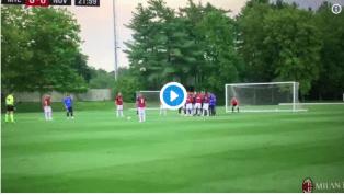 VIDEO | Il primo gol stagionale del Milan lo realizza Suso su calcio di punizione