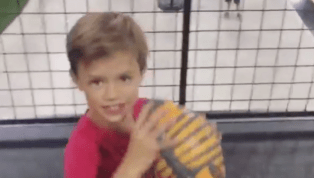 VIDEO: Watch Drew Brees' Sons Hit Awesome Trick Shots With Dude Perfect Team