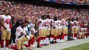 NFL y la Asociación de Jugadores  detienen la política de castigo por arrodillarse en el himno