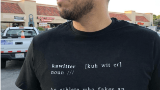Spurs Fans Actually Made 'Ka-Witter' T-Shirts