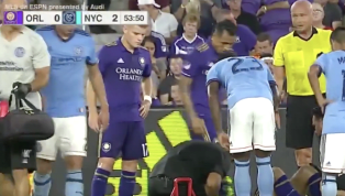 VIDEO: Field Mic Catches Fans Yelling NSFW Taunts During Injury Stoppage at MLS Game