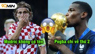 10 tiền vệ trung tâm đắt giá nhất thế giới: Không có Modric, Pogba chỉ về thứ 2