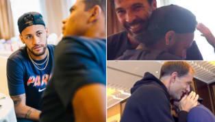 VIDEO: Neymar Returns to PSG; Meets and Greets Gianluigi Buffon and Thomas Tuchel