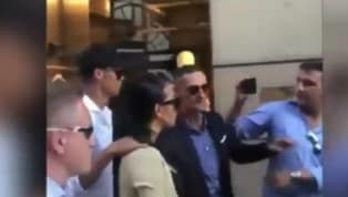 VIDEO: Crowd Mobs Cristiano Ronaldo and Georgina While Shopping in Milan