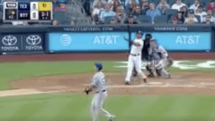VIDEO: Aaron Hicks Smashes Homer and Flips His Bat