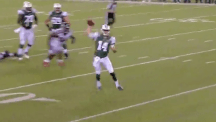 VIDEO: Sam Darnold Scrambles and Makes Impressive Throw for First TD as a Jet