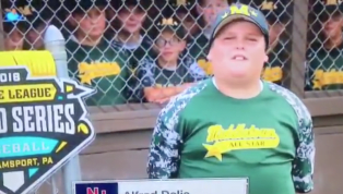 VIDEO: Awesome Little Leaguer 'Big Al' Gives Best ESPN Player Intro of All-Time