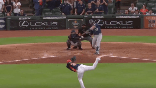 VIDEO: Watch Ryon Healy and Mitch Haniger Finish off Astros for Series Sweep