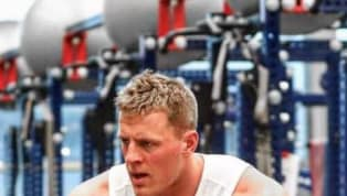 JJ Watt's Arms Look Like They're About to Explode in Latest Instagram Post