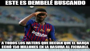 Los mejores memes de la Supercopa de España entre el Sevilla y el FC Barcelona